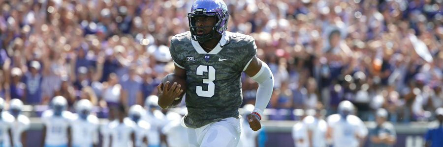 Iowa State at TCU should be a close victory for the Horned Frogs.