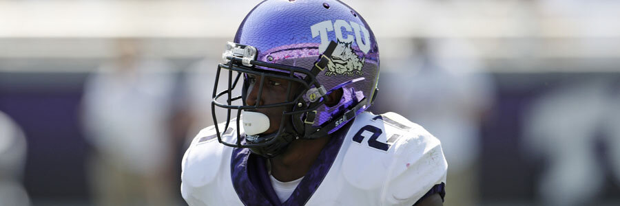 TCU is Slight Favorite in College Football Odds for Week 9 vs. Iowa State.