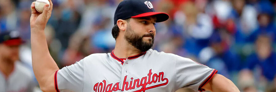 The Nationals are on top of the MLB Odds against the Red Sox for Tuesday Night.