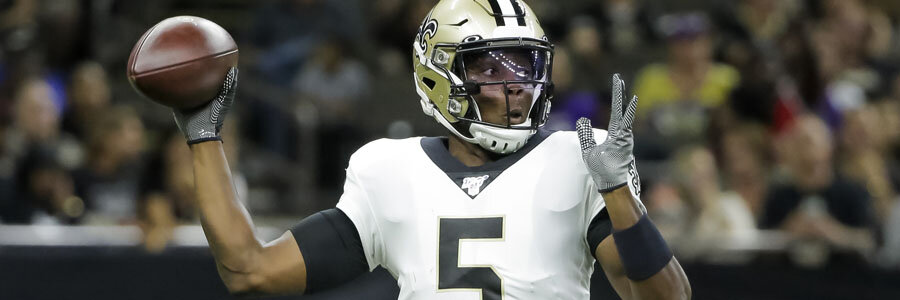 The Saints are no favorites for NFL Week 3 against the Seahawks.