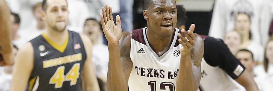 Texas A&M Aggies Sweet Sixteen Odds