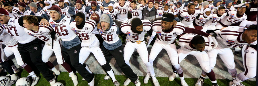 Betting the Texas A&M vs Arizona State NCAA Football Odds