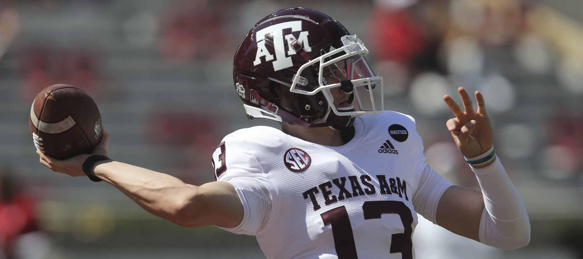Texas A&M Quarterback Battle