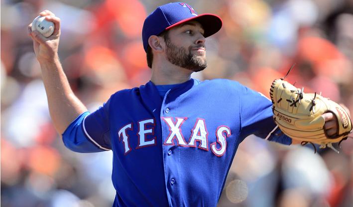 Texas Rangers' Nick Martinez