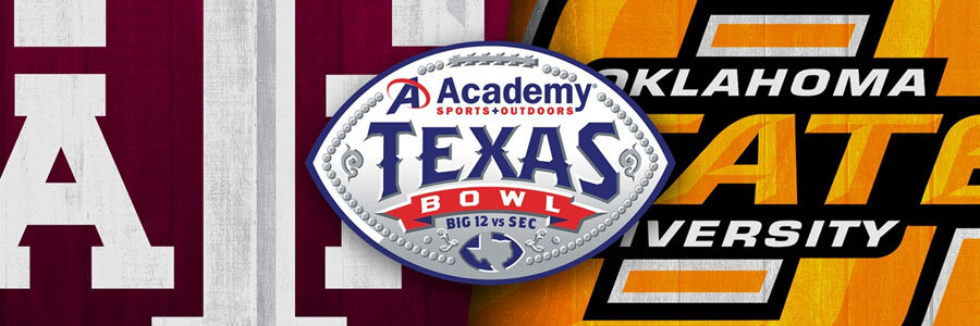 Oklahoma State vs Texas A&M 2019 Texas Bowl Odds, Preview & Prediction.