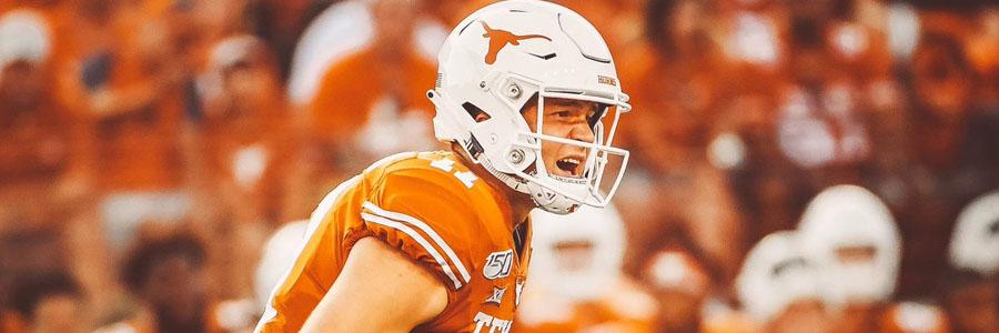 Texas vs TCU 2019 College Football Week 9 Odds, Game Info & Pick.