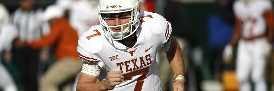 Texas at Oklahoma State NCAA Football Week 9 Lines & Preview.