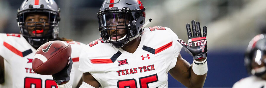 Texas Tech comes in as the NCAAF Week 12 Odds underdog.