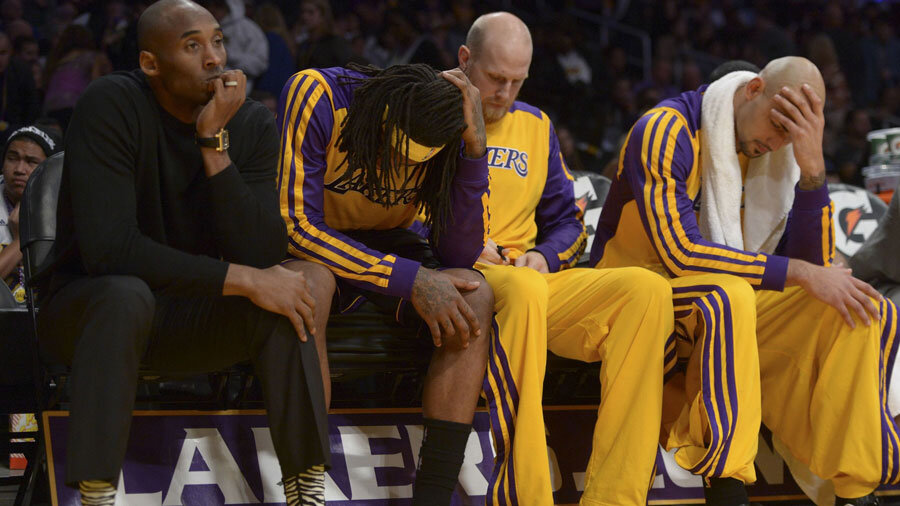 The Lakers have not performed well this season.
