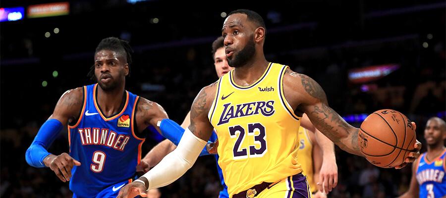 Thunder Vs Lakers Odds & Pick - NBA Betting