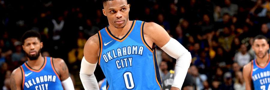 Thunder vs Trail Blazers NBA Betting Lines & Pick for Thursday Night.