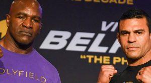 Top Boxing Matches to Bet On The Weekend: Holyfield Fills In For De La Hoya Versus Belfort
