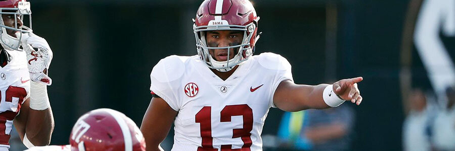 Alabama should be one of your NCAA Football Week 10 betting picks.