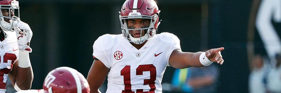 How to Bet Arkansas State at Alabama NCAA Football Week 2 Odds.