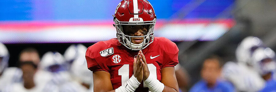 New Mexico State vs Alabama should be an easy one for the Crimson Tide.