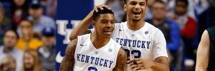 Betting on Stony Brook vs Kentucky March Madness Lines
