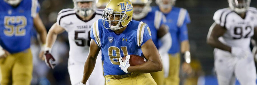 UCLA is one of the NCAA Football Betting favorites to win the PAC 12 in 2018.