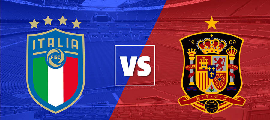 UEFA Euro 2020 Semi-finals Betting Odds: Italy vs Spain