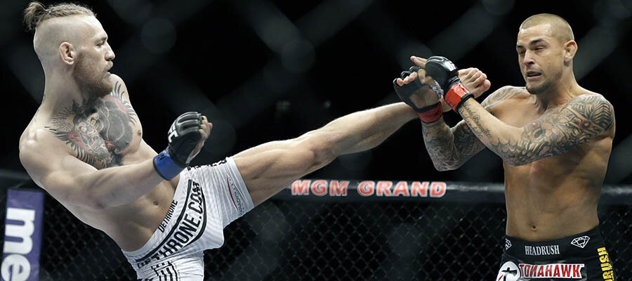 UFC 178: Poirier vs McGregor 1 Recap & Early UFC 264 Betting Prediction