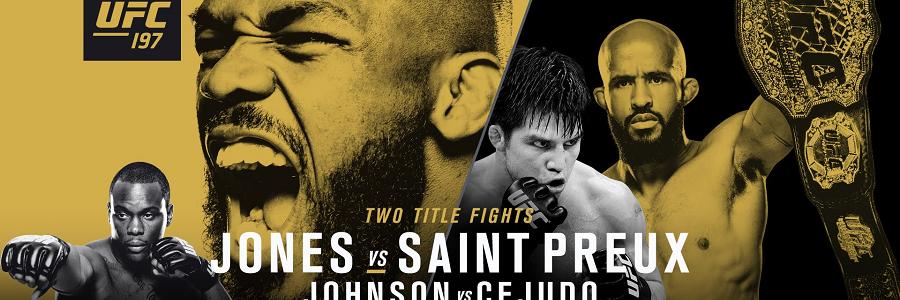 UFC 197 Jones vs Saint Preux Betting Breakdown