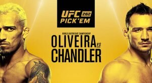 UFC 262: Oliveira Vs Chandler Betting Odds & Picks