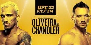 UFC 262: Oliveira Vs Chandler Betting Odds & Picks