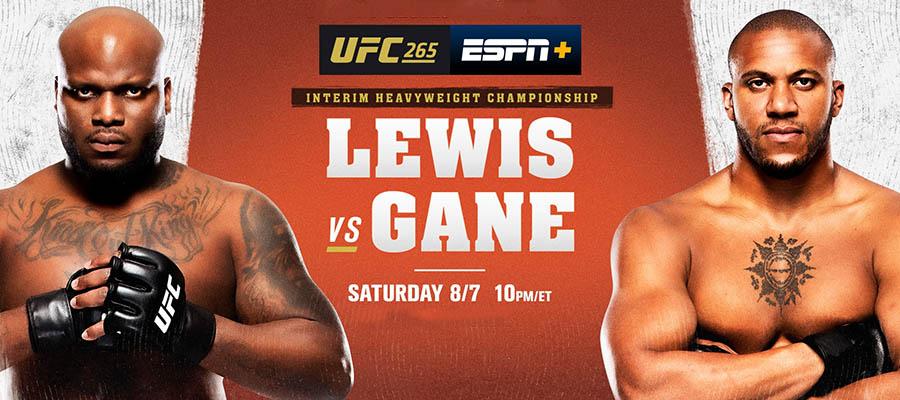 UFC 265: Lewis Vs Gane Betting Odds & Predictions