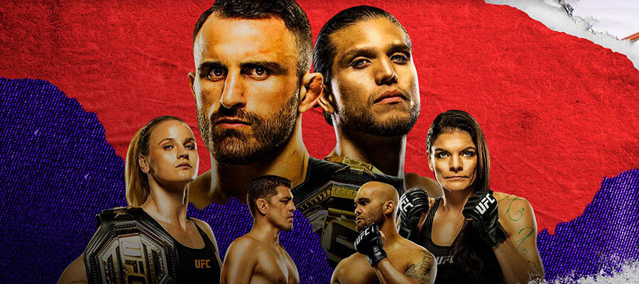 UFC 266: Volkanovski vs Ortega Betting Odds & Predictions