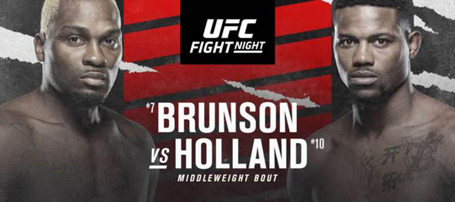 UFC Fight Night: Brunson Vs Holland Expert Analysis