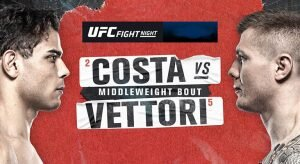 UFC Fight Night: Costa vs Vettori Betting Odds & Picks
