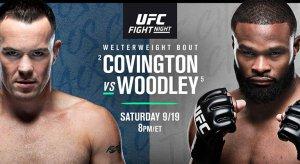 UFC Fight Night: Covington Vs Woodley Odds & Picks