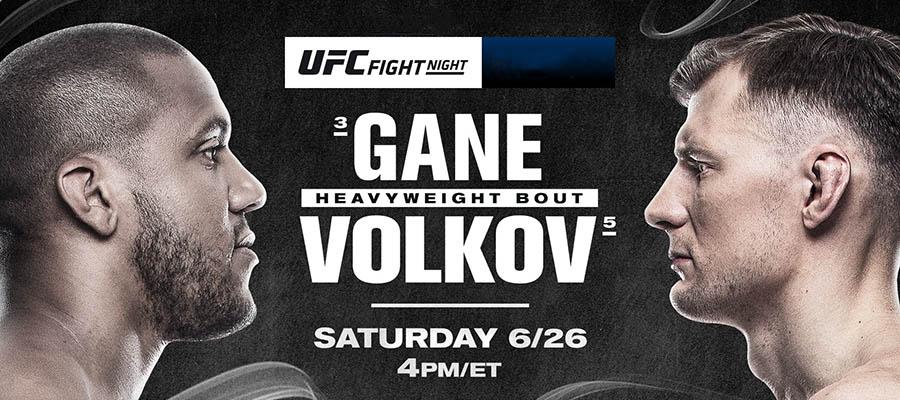 UFC Fight Night: Gane Vs Volkov Betting Odds & Picks