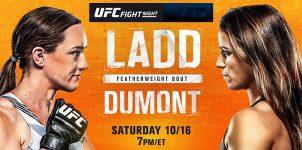 UFC Fight Night: Ladd vs Dumont Betting Odds & Picks