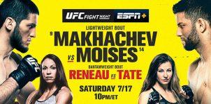 UFC Fight Night: Makhachev Vs Moises Betting Odds & Picks