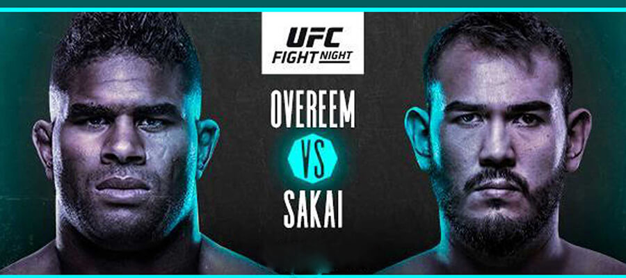 UFC Fight Night: Overeem vs Sakai Odds & Picks
