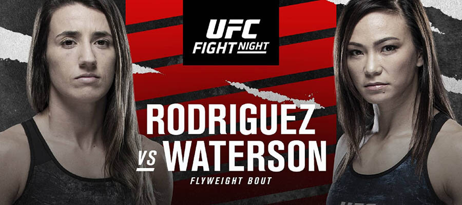 UFC Fight Night: Rodriguez Vs Waterson Betting Odds