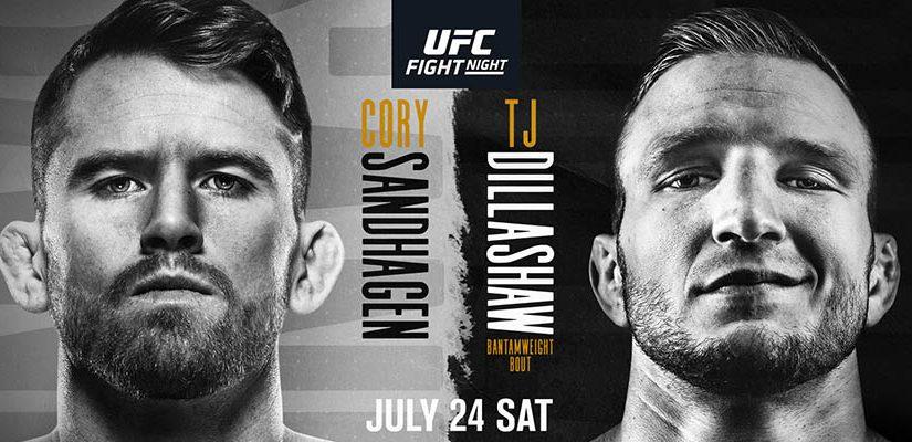 UFC Fight Night: Sandhagen Vs Dillashaw Betting Odds & Picks