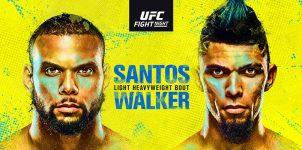 UFC Fight Night: Santos vs Walker Betting Odds & Picks