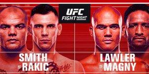 UFC Fight Night: Smith vs Rakic Odds & Picks