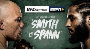 UFC Fight Night: Smith vs Spann Betting Odds & Picks