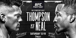 UFC Fight Night: Thompson Vs Neal Expert Analysis