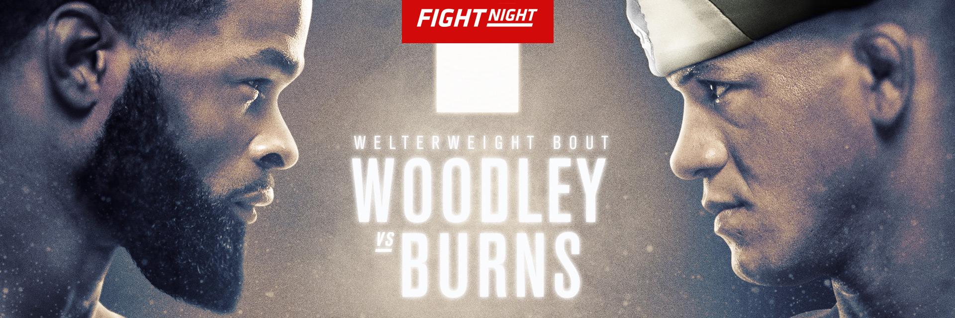 UFC Fight Night: UFC on ESPN 9 Woodley vs Burns