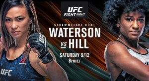UFC Fight Night: Waterson Vs Hill Odds & Picks