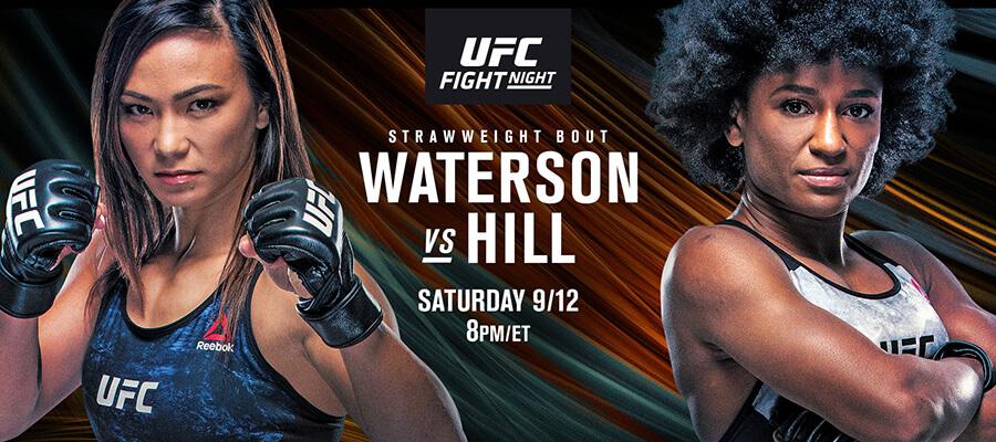 UFC Fight Night: Waterson Vs Hill Odds & Picks