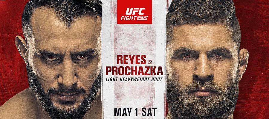 UFC on ESPN 23: Reyes Vs Prochazka Betting Odds