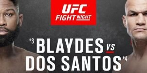 UFC Fight Night 166 Blaydes vs Dos Santos Odds, Preview & Prediction.