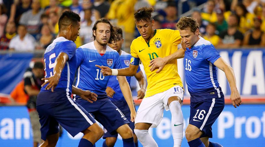 USMNT vs Brazil