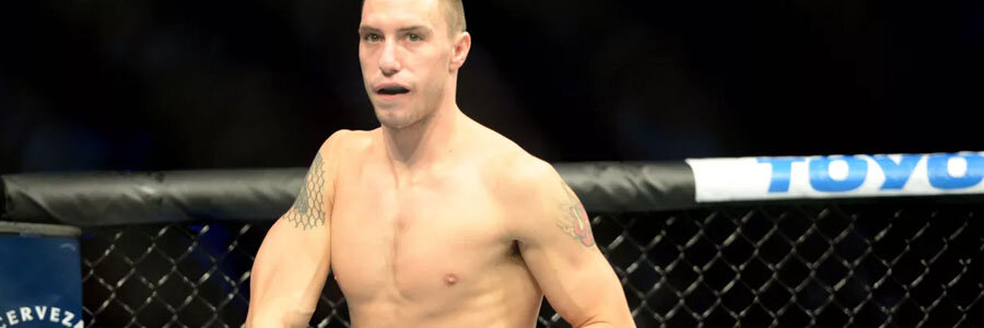 James Vick is one of the favorites for UFC on ESPN 1.