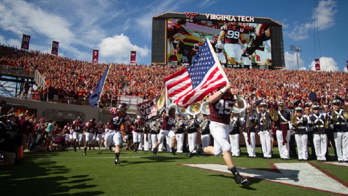 Virginia Tech Hokies Walk In
