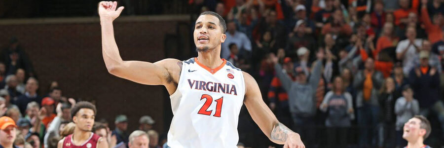 Virginia dominates the NCAAB Odds against Clemson.